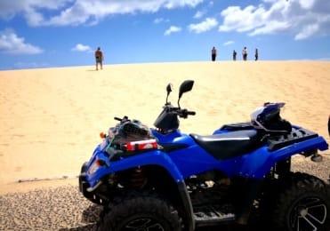 Visit Corralejo dunes on quad