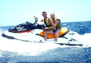 Ride powerful jetski in Gran Canaria
