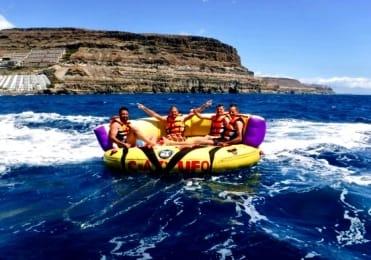 Crazy UFO fun ride Gran Canaria