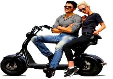 E-scooter chopper tour
