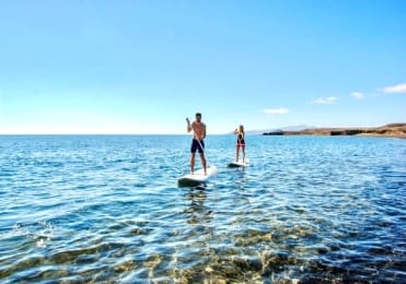 Learn stand up paddle in Fuerteventura