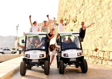 Rolling geek electric buggy tour Malta