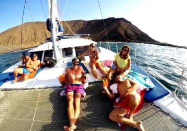 relax on camataran sailing fuerteventura