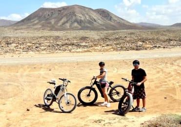 Bike tour volcano fuerteventura