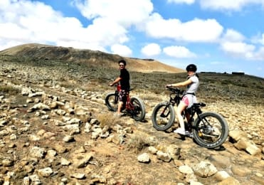 Explore Corralejo landscape on electric bike tour