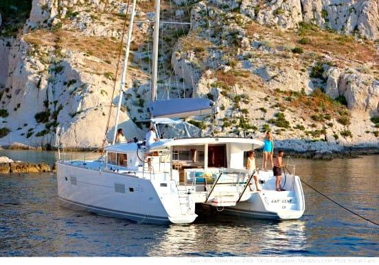 L400 Fuerteventura catamaran private charter