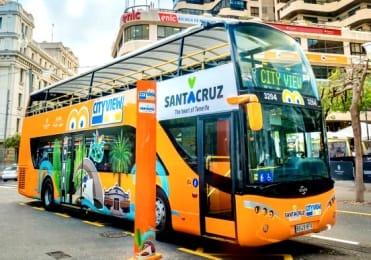 Tenerife Santa Cruz hop on hop off tour