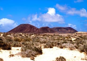 Mountain bike tour in La Graciosa island
