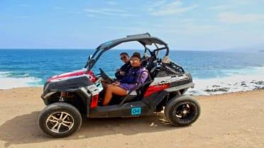 Buggy adventure along the coast of Tenerife