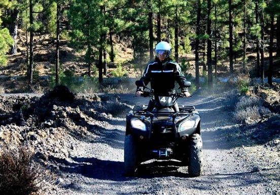 Forest trail quad tour and Teide quad tour Tenerife