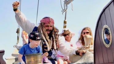 Fun activities for kids on boat trip Fuerteventura