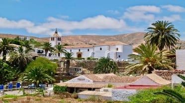 Charming Betancuria town of Fuerteventura