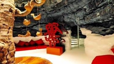 Cesar Manrique Foundation living area Lanzarote Tour