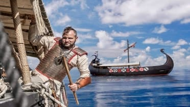 Ragnarok Viking boat excursion in Tenerife