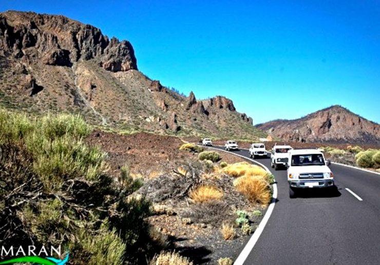 Jeep tour to Teide and Masca