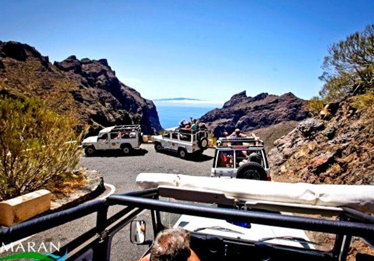 Tenerife Jeep Safari Tour Teide and Masca
