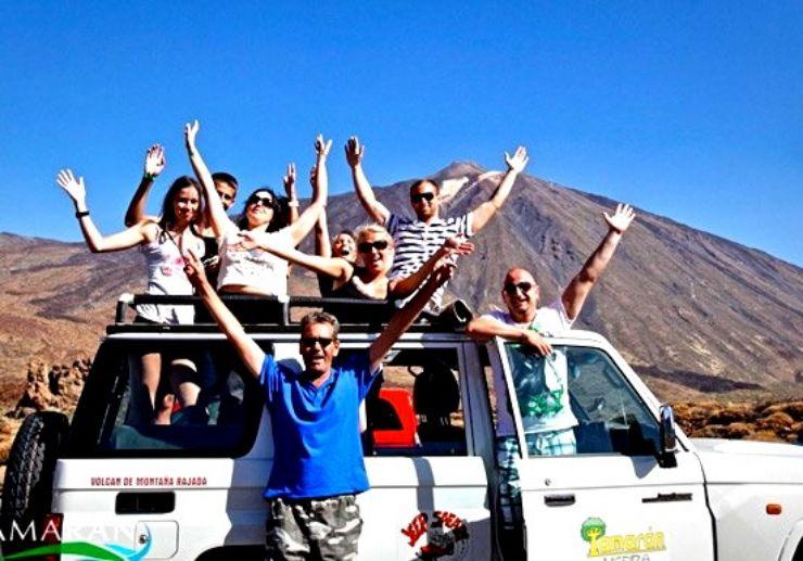 Teide and Masca Jeep Safari Tour