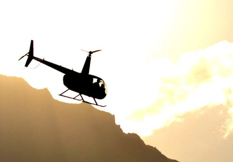 Book Tenerife helicopter tour
