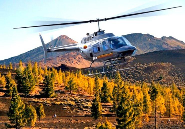 Gran Teide helicopter tour Tenerife