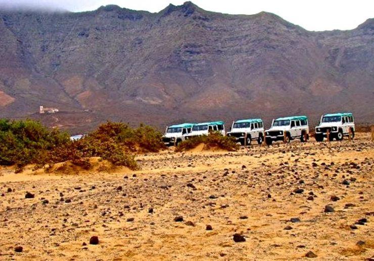 Fuerteventura el cofete jeep tour rugged terrain
