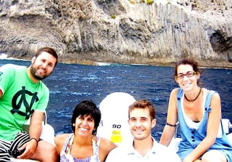 Amazing day out in the sea with friends La Gomera