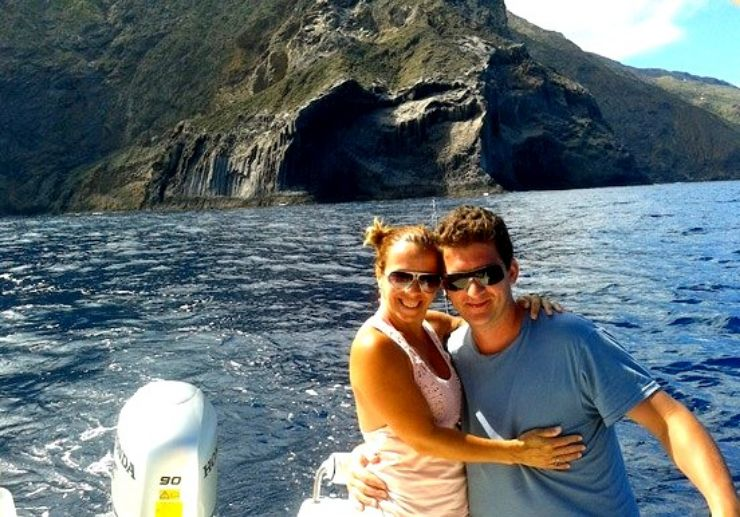 Charter a romantic boat trip in La Gomera