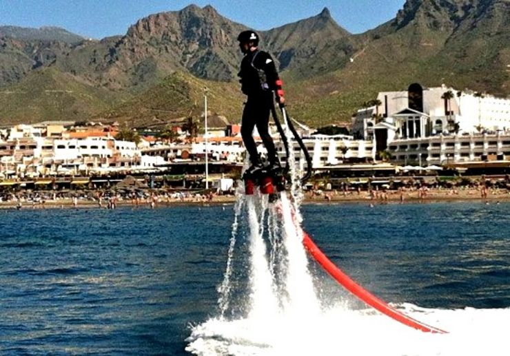 Hover in mid air with flyboard in Tenerife