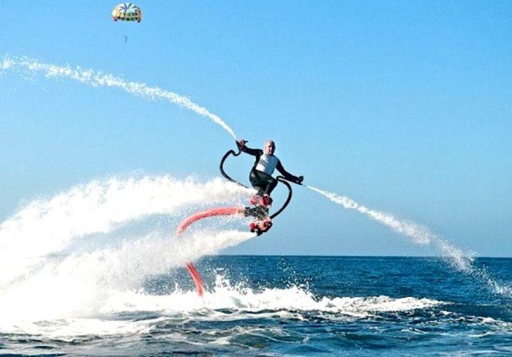 Enjoy flyboard in Tenerife