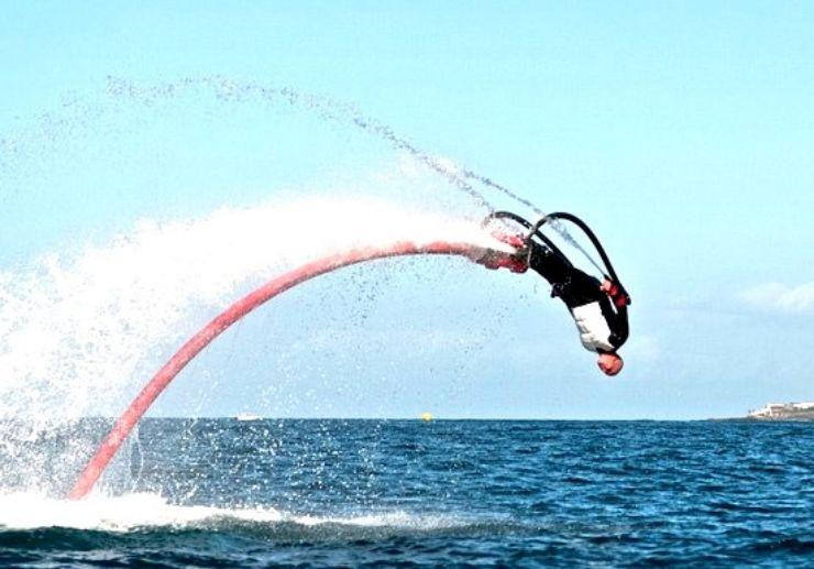 Flyboard in Playa de las Americas