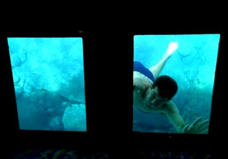 Underwater viewing boat Los Gigantes
