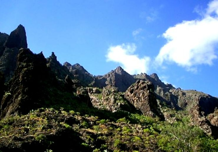 Hiking Masca water taxi to Los Gigantes
