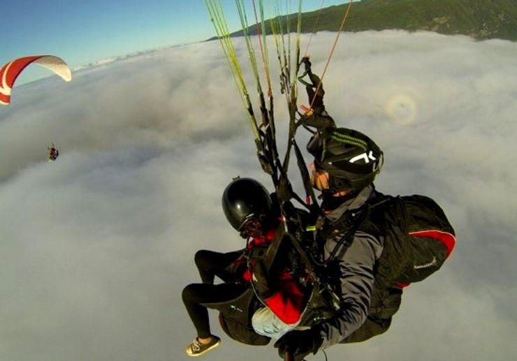 Paraglide from Guimar from Izaña Tenerife