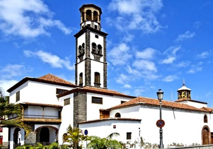 The conception church of Santa Cruz Tenerife