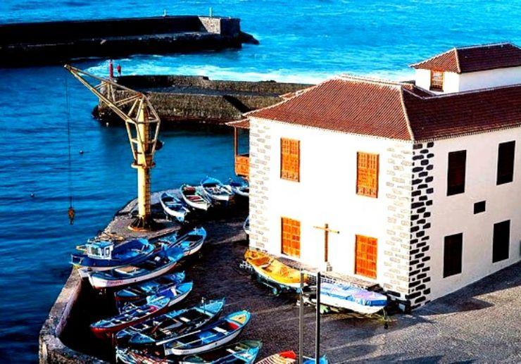 Charming fishing port of Puerto de la Cruz
