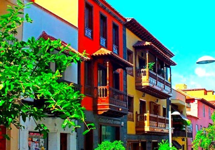 Calle Zamora in Puerto de la Cruz