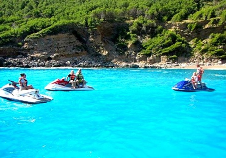 Mallorca jet ski safari in Alcudia bay