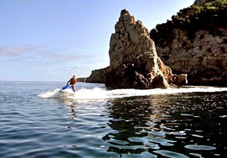 Jet ski safari in Mallorca