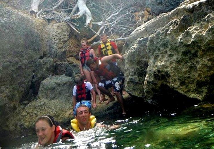 Jetski Pirates cave in Mallorca
