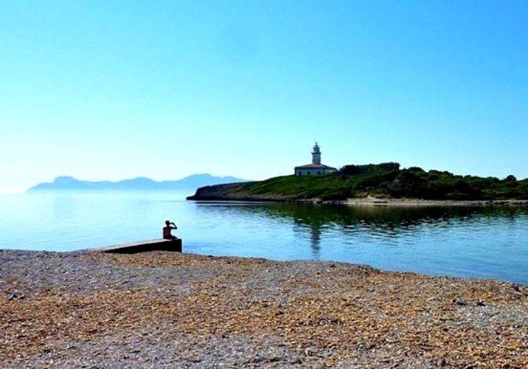 Boat trip to Mallorca Alcanada island