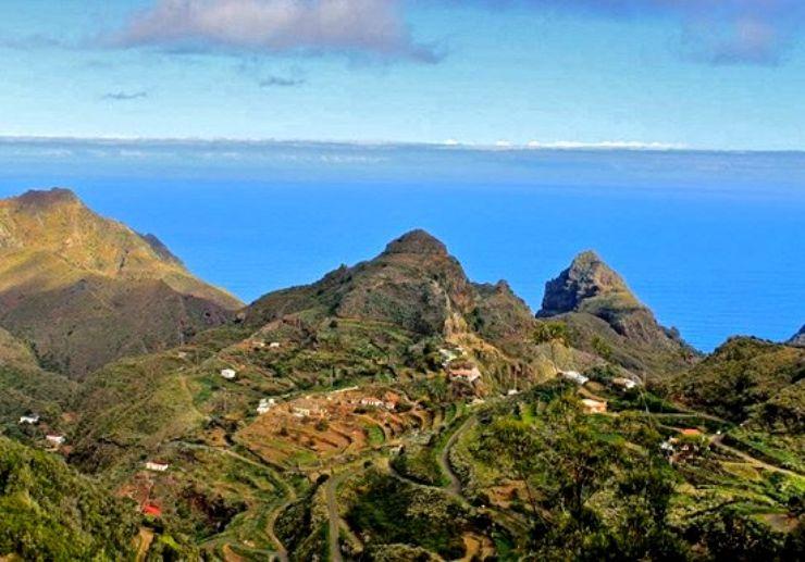 El Batan hiking route Anaga Tenerife