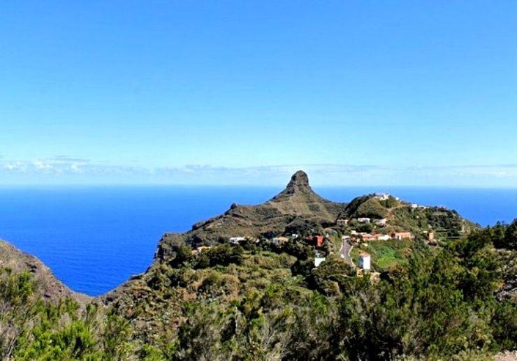Tenerife beautiful coastal view hiking in Anaga