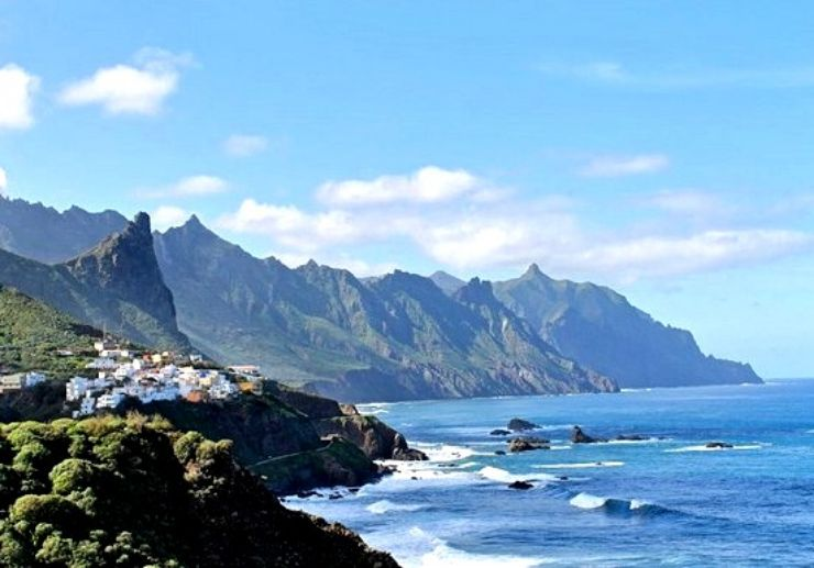 Enjoy Tenerife coastal view hiking Anaga