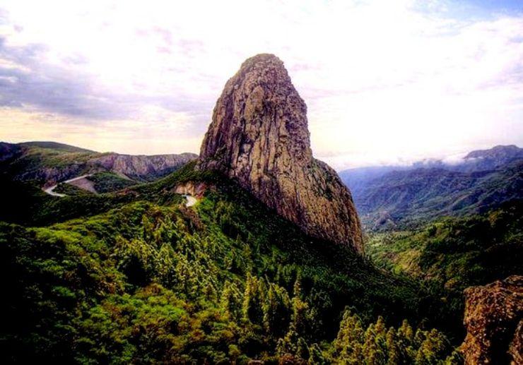 Impressive Roque Agando in La Gomera