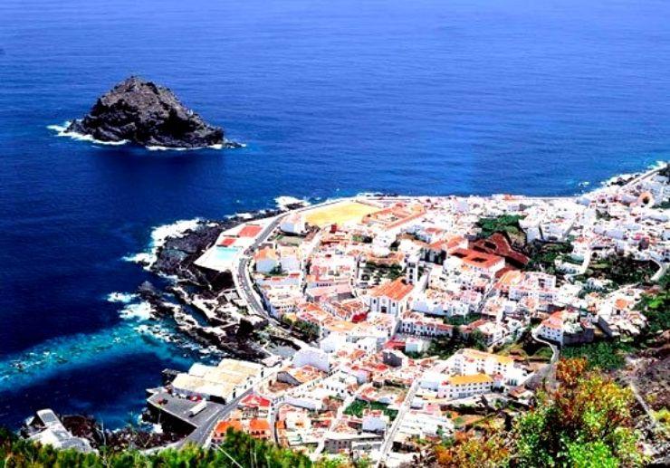 From the viewpoint of Mirador de Garachico