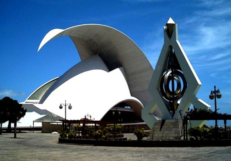 Auditorio de Tenerife in Santa Cruz