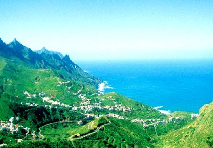 Anaga and Taganana region in Tenerife