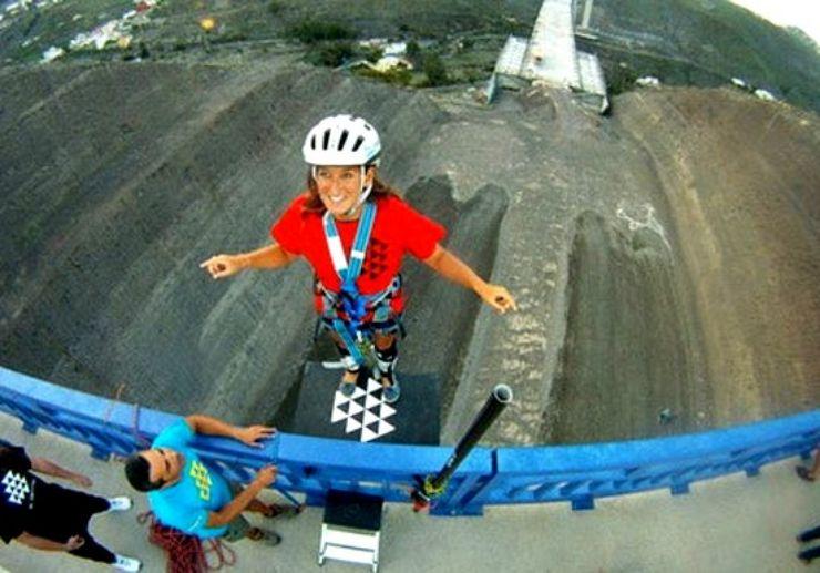 bridge bungee jumping in Gran Canaria