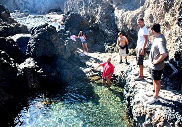 Gran Canaria multi adventure refreshing dip