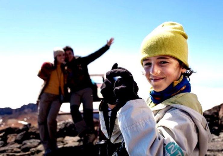 Child-friendly Teide tour