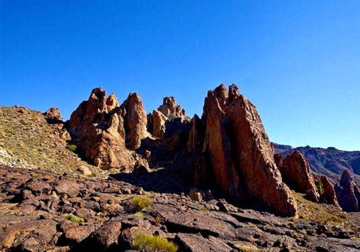 Rocky landscape in Teide National Park